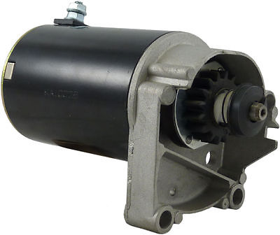 Caltric Starter Fits Briggs /& Stratton 498148 495100 Longer Case CCW 16 Tooth Drive