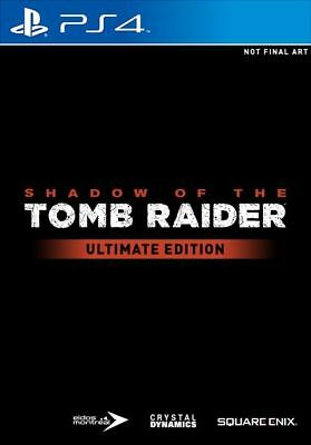 Shadow Of The Tomb Raider Ultimate Collector's Edition Ps4 New