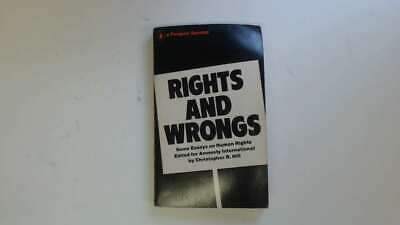 Good - Rights and Wrongs - Christopher R Hill Edited By 1969-01-01  Penguin