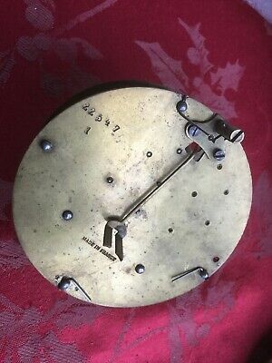 Part From Later Round Plate Motion Work Plates French  Antique Clock  Movement