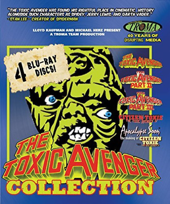 TOXIC AVENGER BOXSET (4PC) ...-TOXIC AVENGER BOXSET (4PC (US IMPORT) Blu-Ray NEW