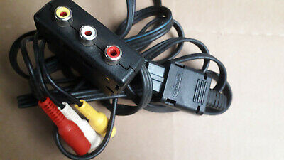 Official Nintendo Gamecube AV Audio Video TV Cable Lead  inc. scart
