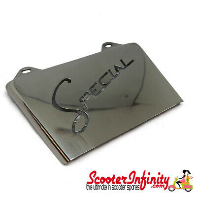 Mudflap Rear Stainless Steel SPECIAL (Lambretta LI, SX, TV, GP)