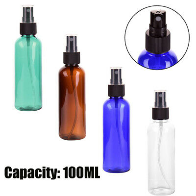 1PC 100mL Travel Plastic Bottles Clear Perfume  Empty Spray Bottle Portable