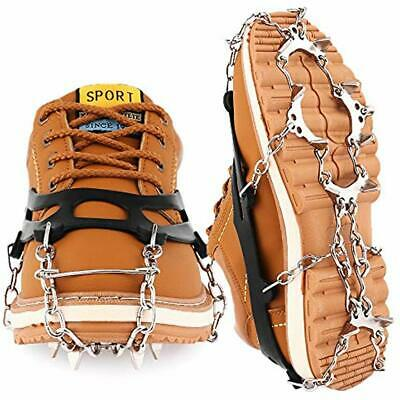 Traction Ice & Snow Grips Cleats Crampons Grippers Microspikes Men Women Boots