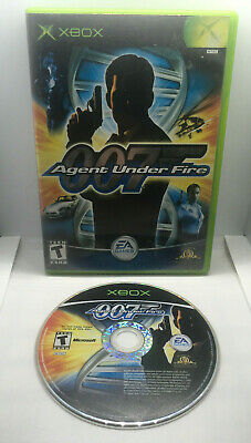 James Bond 007 in Agent Under Fire - Case and Game Disc - Tested -Xbox