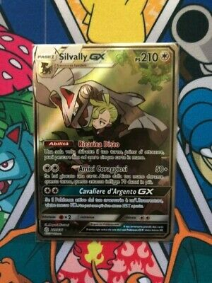 1X Silvally Gx 227/236 • Full Art Ultra Rara • Pokemon Eclissi Cosmica