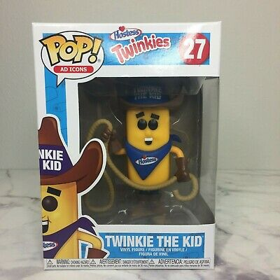 Funko Pop! Twinkie the Kid 27 Hostess Vinyl figure POP Ad Icon Brand New!
