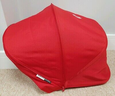 Bugaboo Donkey Red Extendable Hood/sun canopy 002