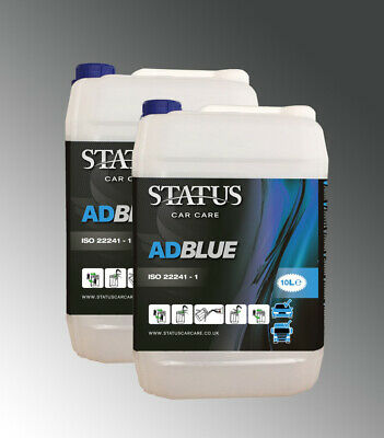 Status ISO2241-1 AdBlue Universal Cars Vans 10 L 20 Litre With Pouring Spout