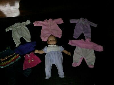 American Girl Bitty Baby Lambie Pjs Pajamas For Doll