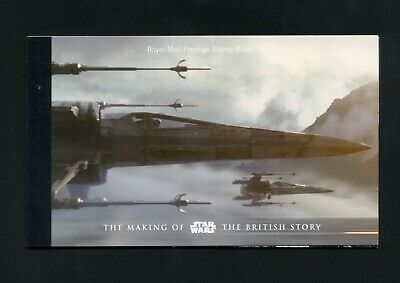 2015 DY15 Star Wars Prestige booklet - NO STAMPS