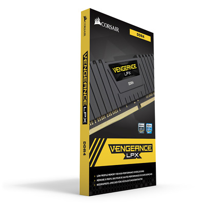 Corsair Vengeance LPX 16GB 2X 8GB DDR4 3200MHz C16 Gaming Desktop RAM Memory Kit