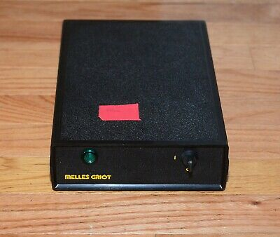 Melles Griot 25-LHP-991-249 Power Supply - For Red Helium Neon Laser 663nm 10mW