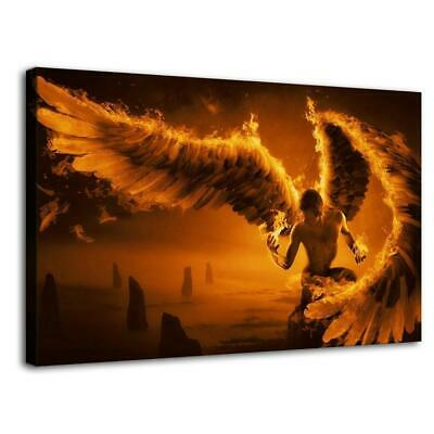 """16""""x26""""Angel Wings HD Canvas prints Painting Home Decor Picture Room Wall art"""