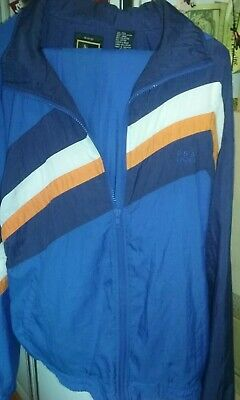 VINTAGE JCPenney USA Olympic Windbreaker Jacket Pants Tracksuit Size L EXCELLENT