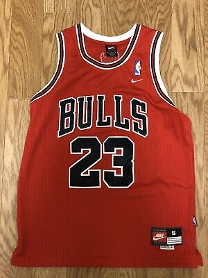 Chicago Bulls Michael Jordan Jersey Red #23 Men's Size Small