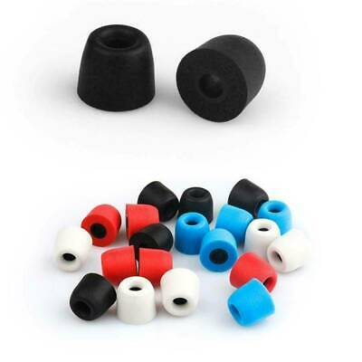 10x memory foam tips noise cancellation in-ear earbud replacement medium  /&T