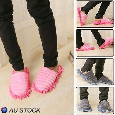 Creative Lazy Foot Socks Mopping Shoes Mop Floor Cleaning Mopping Slippers AU