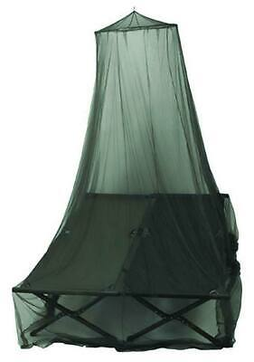 Mosquitera Doble color Verde oliva oscuro - red anti mosquitos cama militar