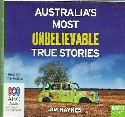 Australia's Most Unbelievable True Stories Mp3 Ready Audiobook Cd New