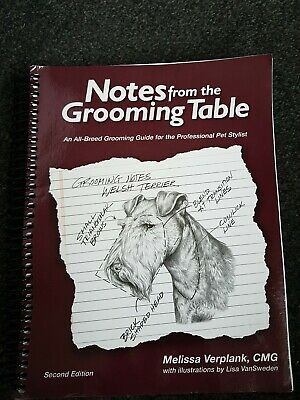 NOTES FROM THE GROOMING TABLE 2nd EDITION BY MELISSA VERPLANK