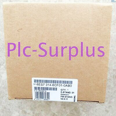1PC NEW IN BOX SIEMENS 6ES7314-6CF01-0AB0 6ES73146CF010AB0 One year warranty