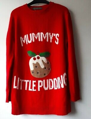 Mothercare Blooming Marvellous Maternity Christmas Jumper