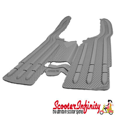 Floormat Floorboard Protection (Grey) (Lambretta LI Series 1-2, TV Series 2)