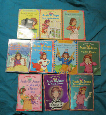 Lots Of Junie B. Jones Chapter Books For 2Nd- 4Th Grade Readers   (Set 8855)