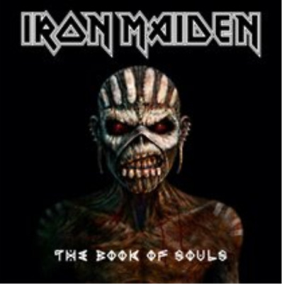 Iron Maiden-The Book of Souls CD NUOVO