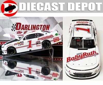 Michael Annett 2019 Darlington Throwback Baby Ruth 1/24 Action Collector