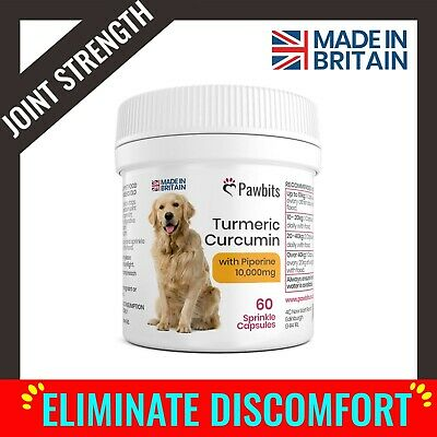 TURMERIC DOG JOINT Supplement for Stiff and Older Dogs With