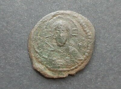 Byzantine bronze coins. Anonymous follis class G (Romanus IV)