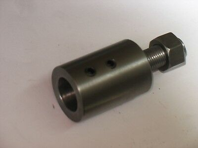 "SHAFT  ADAPTER  THREADED   5/8""-18 Female X 1/2""-20 Male   Steel 1 Pc b SPECIAL"