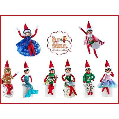 Elf on the Shelf Dress Up Outfits Clothes Claus Couture Collection Hiding Ideas