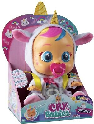 Cry Babies Doll *DREAMY* The Unicorn Baby New 2019