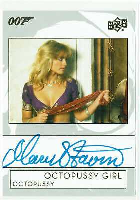 James Bond Collection 2019 Autograph Card A-VI Mary Stavin as Octopussy Girl