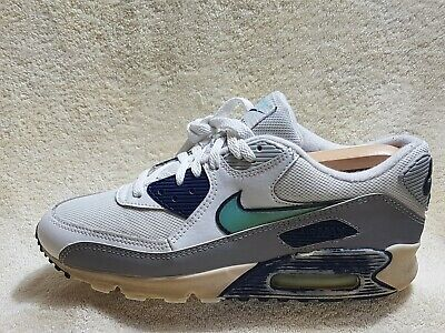 Nike Air Max Vintage mens trainers Leather White/Grey/Navy UK 8 EU 42.5