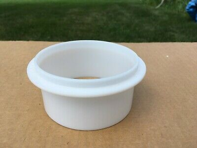 """Tupperware Hamburger Patty Press Maker Replacement Ring Only Small 3 3/4"""""""