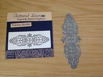 Tattered Lace Metal Die  THAMES BORDER