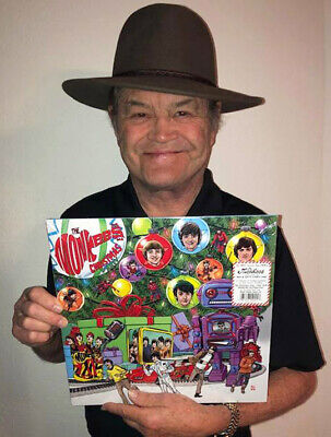 MICKY DOLENZ DIRECT! The MONKEES CHRISTMAS PARTY LTD ED. RED/WHITE VINYL SIGNED!