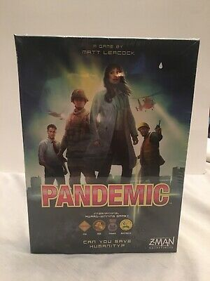 Pandemic Legacy Game Z-man Games New In Sealed Wrap