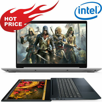 "HOT! LENOVO IdeaPad 15.6"" INTEL DualCore 128GB SSD Drive 4GB WebCam Win10 Laptop"