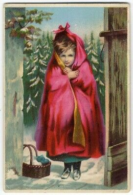 Denton Delaware DR JAYNE'S Medical Cure LITTLE RED RIDING HOOD Trade Card