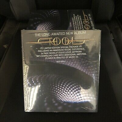Tool - Fear Inoculum CD ( Deluxe Edition) Limited Tri Fold W/ HD Screen In hand