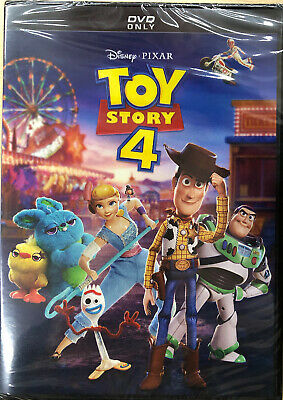 TOY STORY 4 (DVD, 2019) Brand New Sealed Region Code 1 FREE SHIPPING