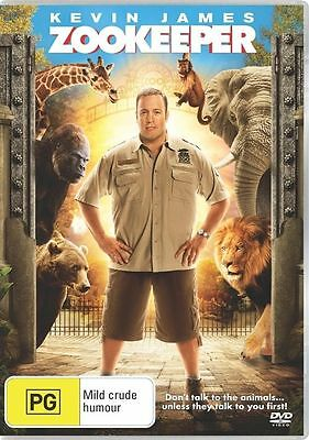 Zookeeper (DVD, 2012), New and sealed, R4