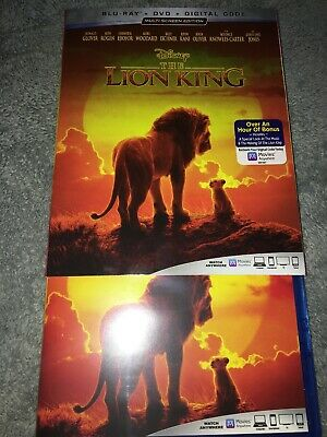 The Lion King, 2019 - Live Action (Blu-Ray + DVD) (No Digital)
