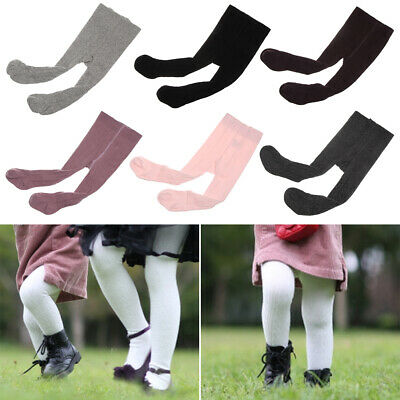 Breathable Leg Warmers Soft High Knee Sock Pantyhose Baby Long Stocking Cotton